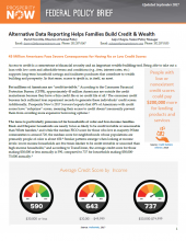 Alternative Data Reporting Helps Families Build Credit & Wealth