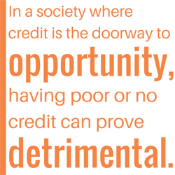 Credit opportunity block quote
