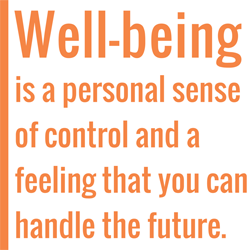 financial well-being block quote