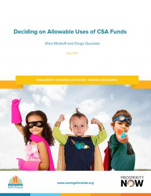 CSA Report cover
