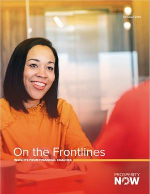 On the Frontlines report cover