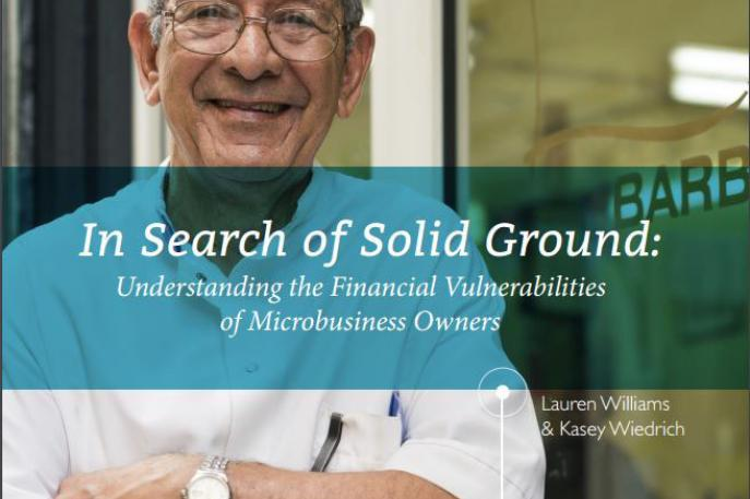 In Search of Solid Ground: Understanding the Financial Vulnerabilities of Microbusiness Owners