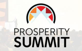 Save the Date:Prosperity Summit 2020