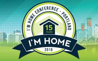 2019 I'M HOME Conference logo