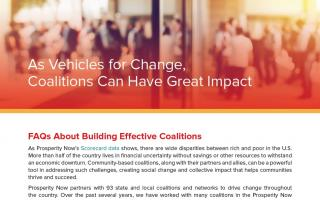 As Vehicles for Change, Coalitions Can have Great Impact report cover