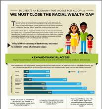 To Create an Economy That Works For All of Us, We Must Close the Racial Wealth Gap