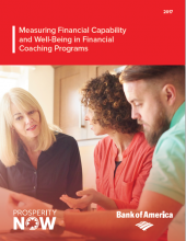 Measuring Financial Capability and Well-Being in Financial Coaching Programs