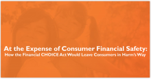 At the Expense of Consumer Financial Safety: The Financial CHOICE Act (Slides)