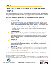 How to: Get Internal Buy-In for Your Financial Wellness Program