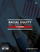 Racial Equity Policy Design and Advocacy: A Primer