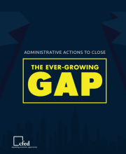 Administrative Actions to Close the Ever-Growing Gap
