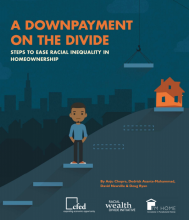 A Downpayment on the Divide: Steps to Ease Racial Inequality in Homeownership