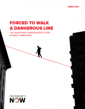 Forced to Walk a Dangerous Line: The Causes and Consequences of Debt in Black Communities