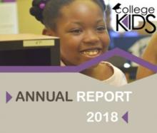 College Kids Savings Program: Annual Report 2018