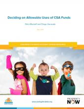 CSA Program Design: Deciding on Allowable Uses of CSA Funds